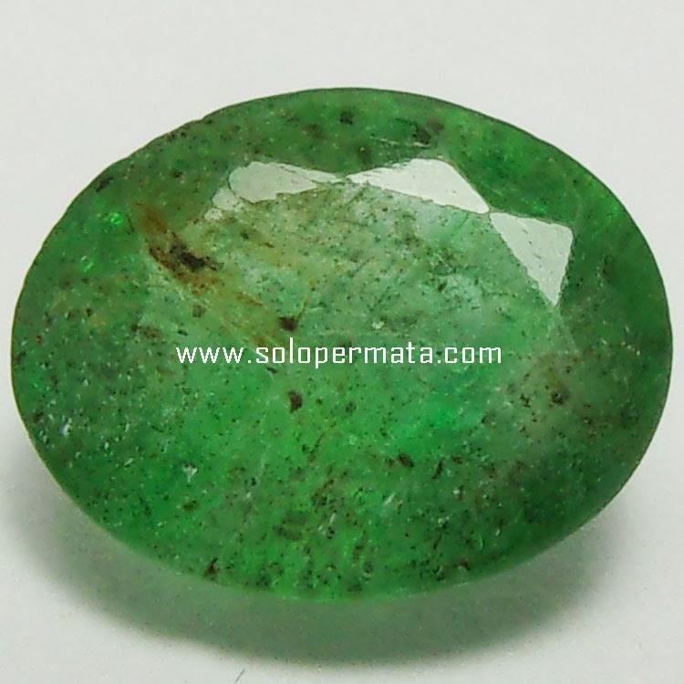 Batu Permata Zamrud Emerald Beryl - 26A03