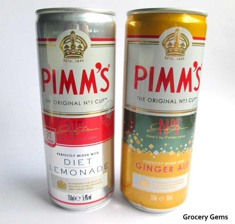 Grocery gems news pimm 39 s pre mix cans pimm 39 s diet for What to mix with pimms