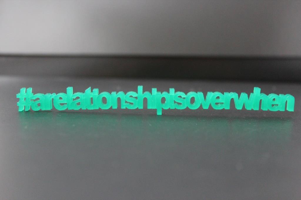 #arelationshipisoverwhen