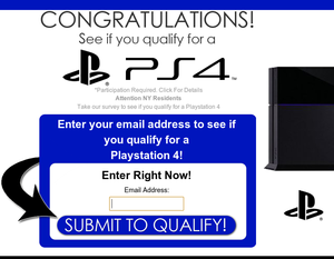 See if you qualify for a NEW PS4