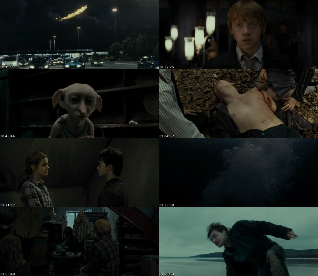 Harry Potter y las reliquias de la Muerte: Parte 1 (2010) [DVDRip] [Latino]