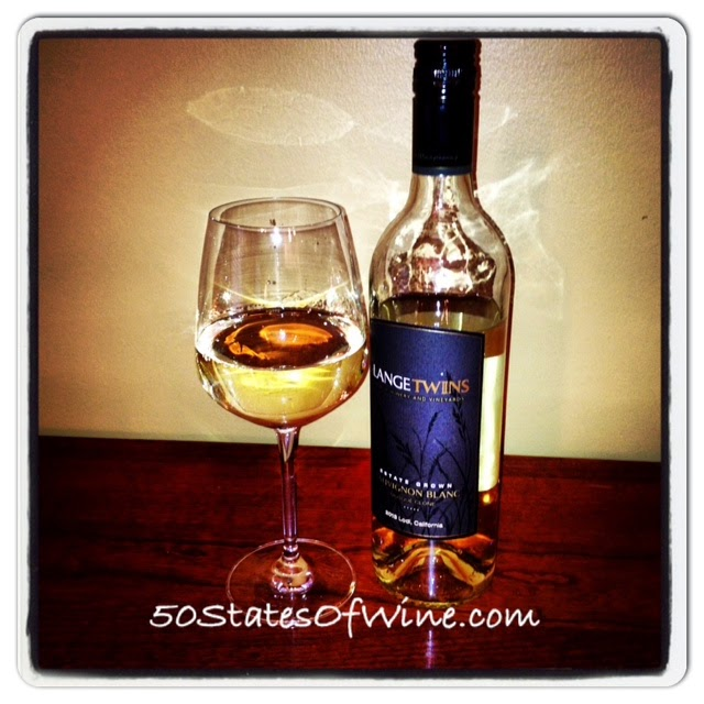 LangeTwins Sauvignon Blanc 2013