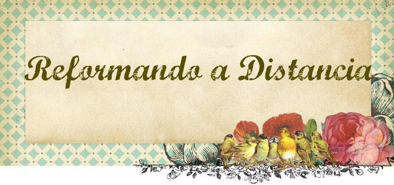 REFORMANDO A DISTANCIA