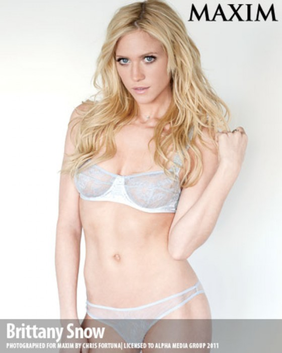 Brittany Snow Sexy on Maxim Magazine