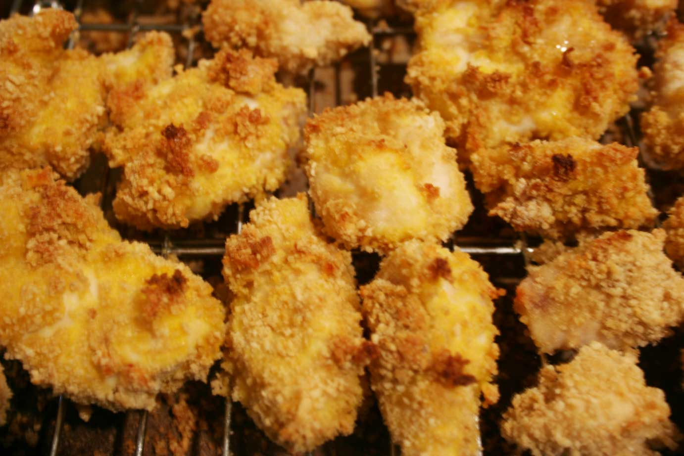 Everyday Finesse: Baked Gluten-free Chicken nuggets
