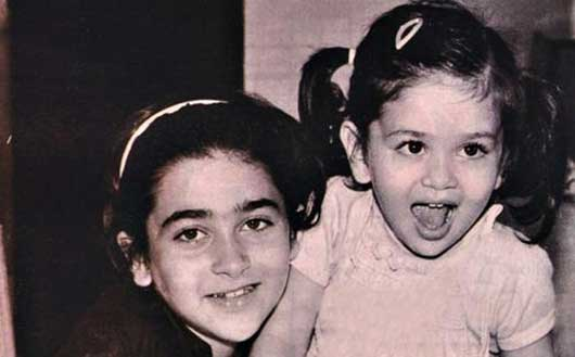 kareena kapoor childhood picture
