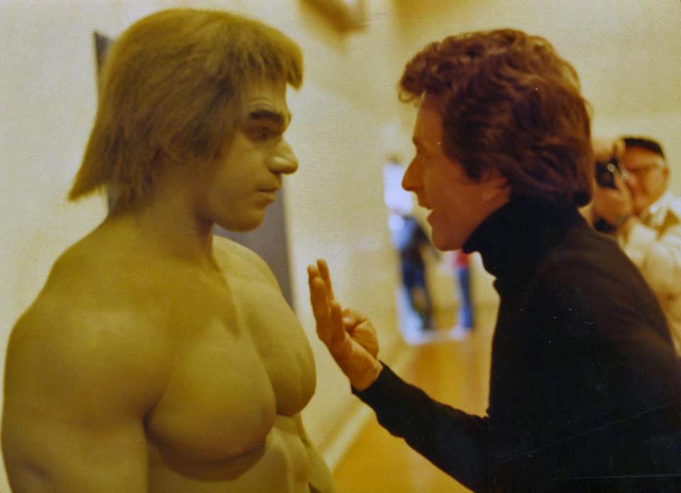 Bill Bixby Incredible Hulk Lou Ferrigno