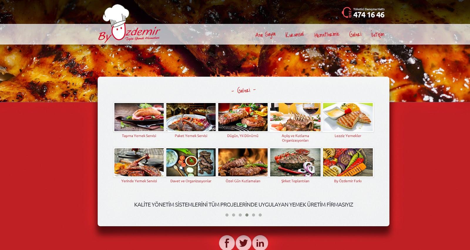 Toplu Yemek Hizmetleri Galeri Sayfası