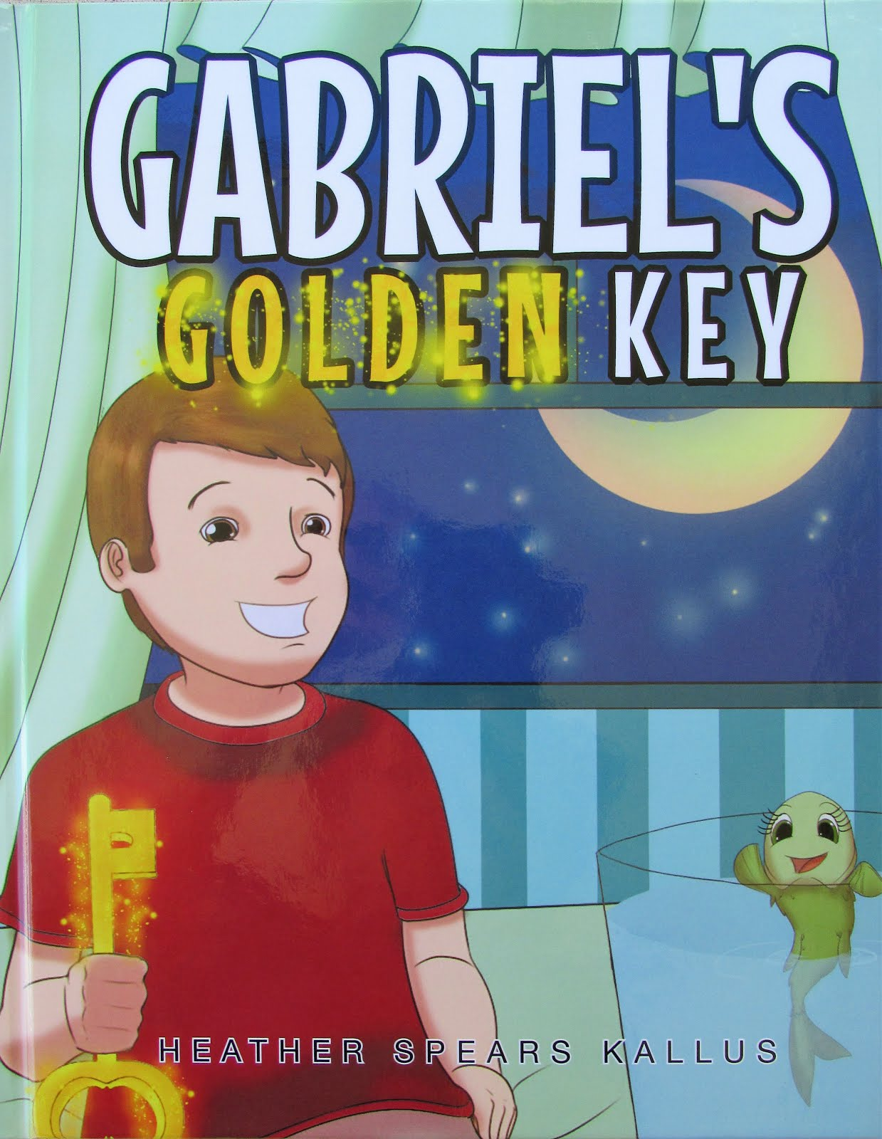 My new children's book - Gabriel's Golden Key