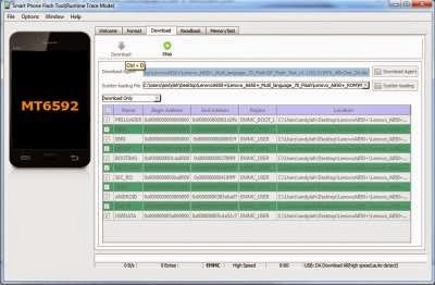 How Flashing Lenovo A850+ with MultiLanguage ROM + Install Gapps