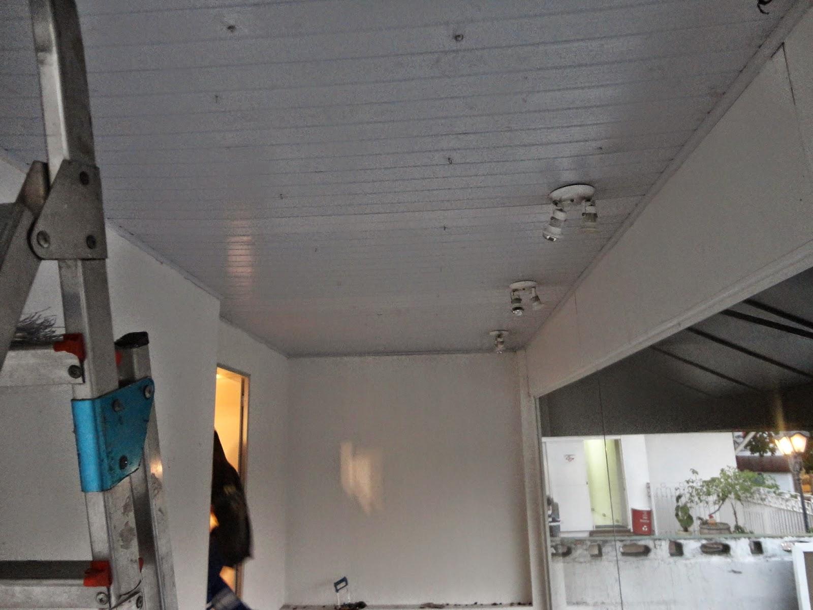 Forro PVC instalado com Garantia Permanente