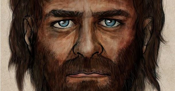 Europeus primitivos tinham a pele escura e olhos azuis