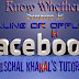 How To Know Whether Someone is online or offline in Facebook