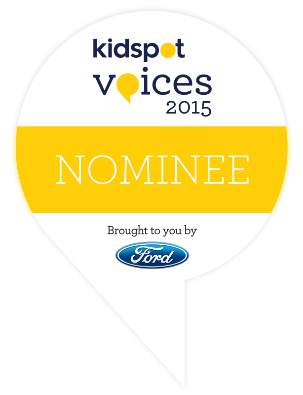 Kidspot Voices of 2015 Nominee
