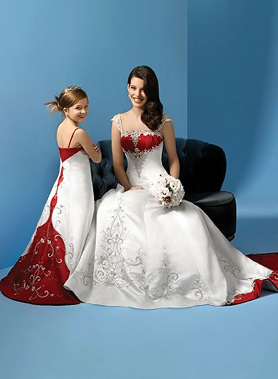Image Gallary 1: Girls pictures in white wedding dresses