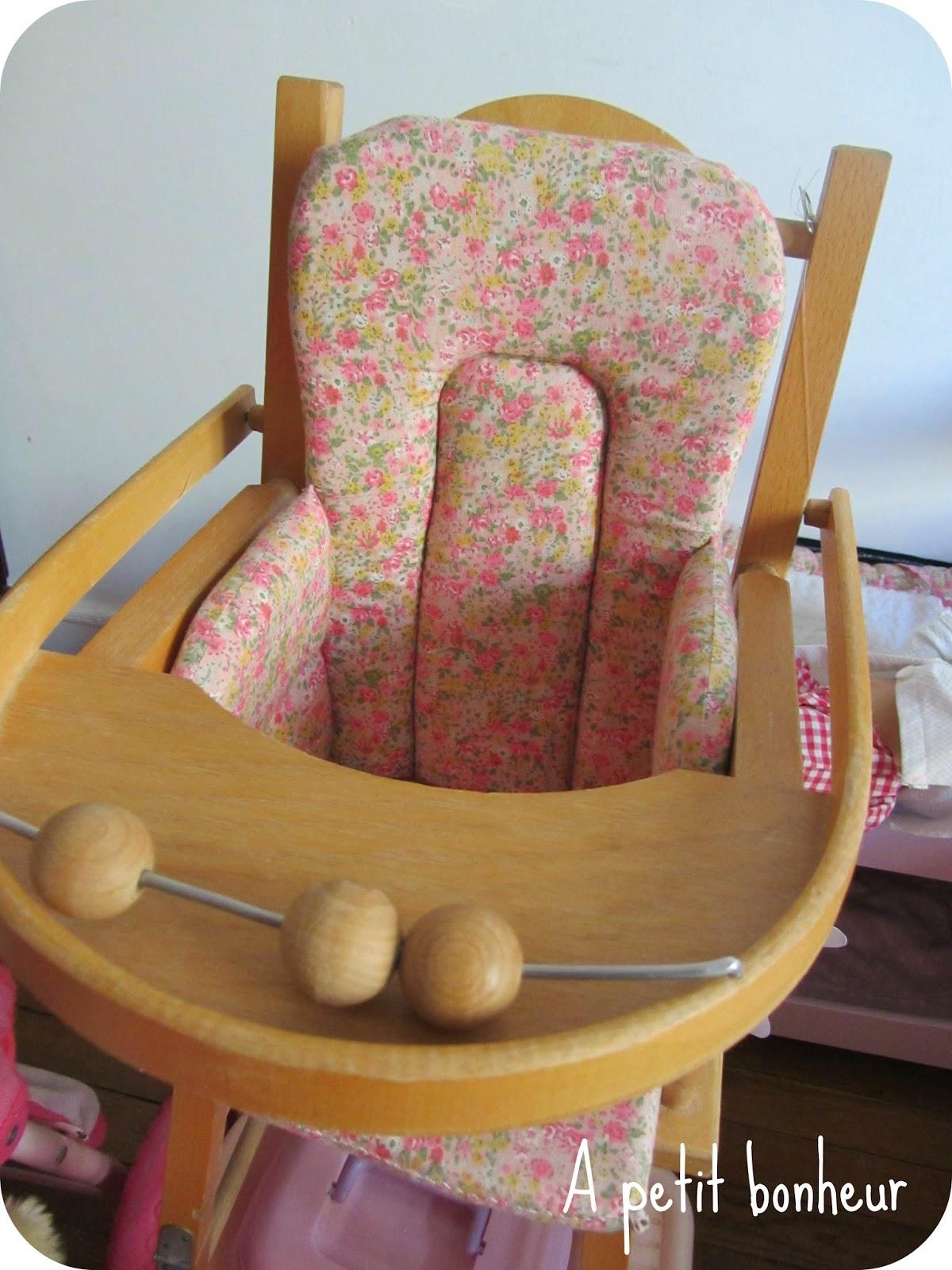 Tuto De Coussin Chaise Haute Pour Les Poupes Ces Demoiselles