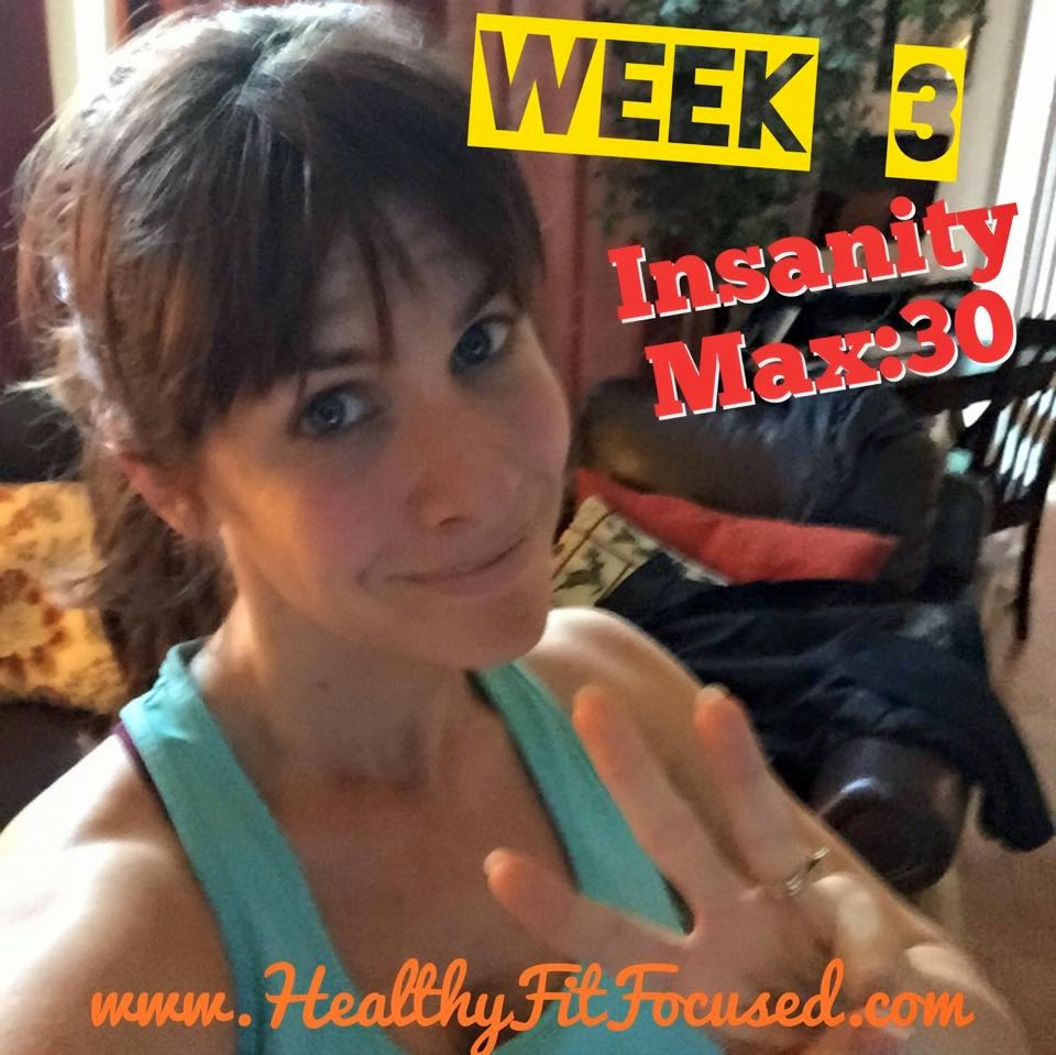 Insanity Max:30 - Week 2 & 3 Women's Update, Progress Report and Meal Plan!!