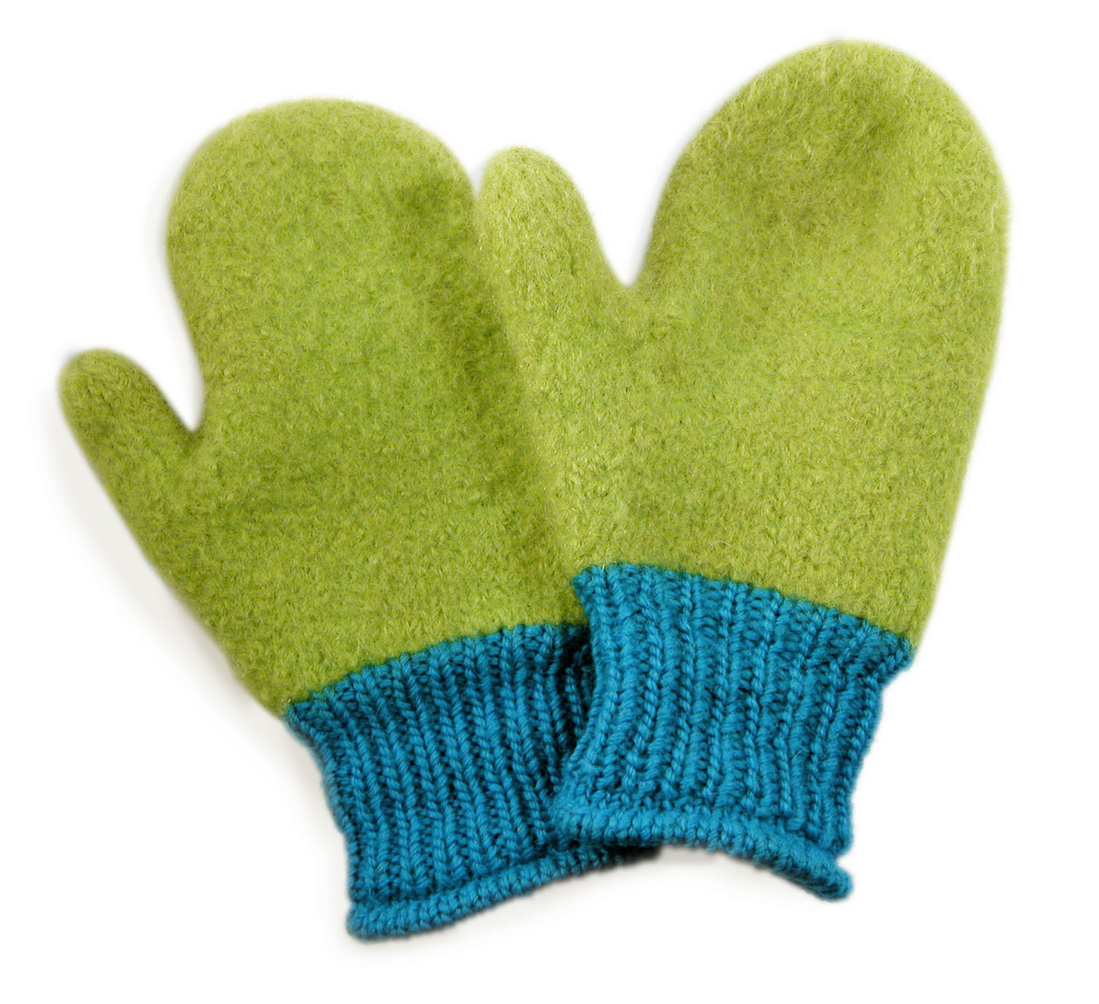 Knitting Pattern Gloves Child : TECHknitting: A felting primer for hand knits (wet felting)