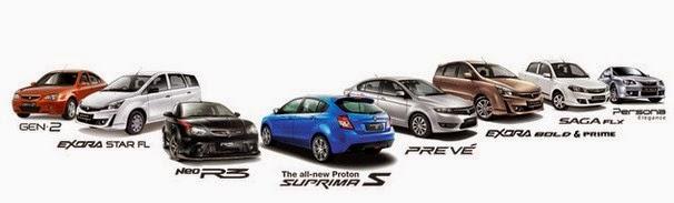 Daftar Harga Mobil Proton Baru dan Bekas 2015