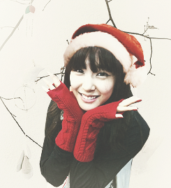 Tiffany Hwang - Christmas Girl SNSD Girls' Generation