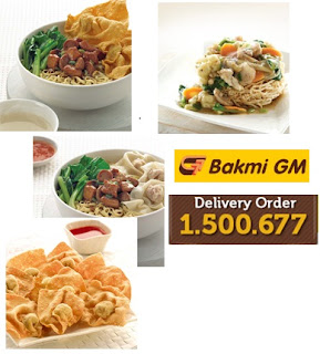 Layanan Bakmi GM Delivery