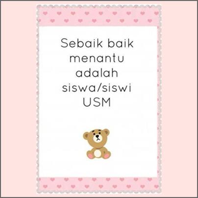 USM, quote