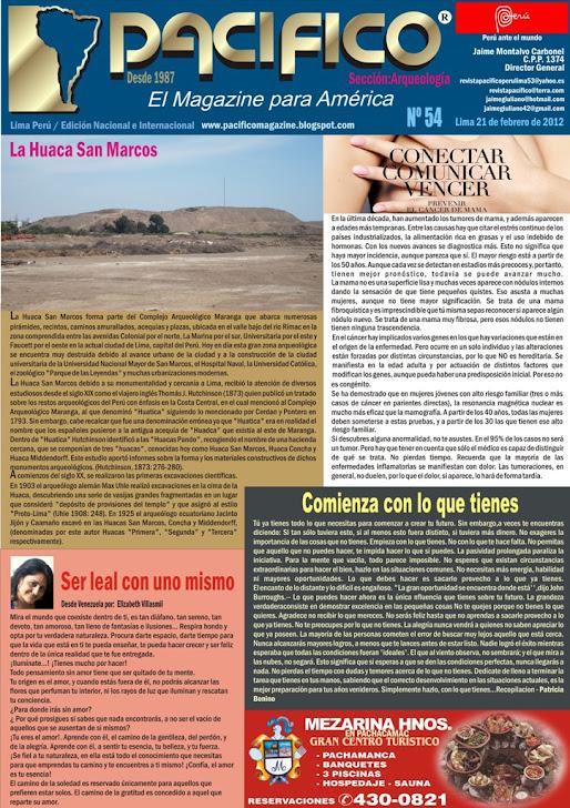 Revista Pacífico Nº 54 Arqueología