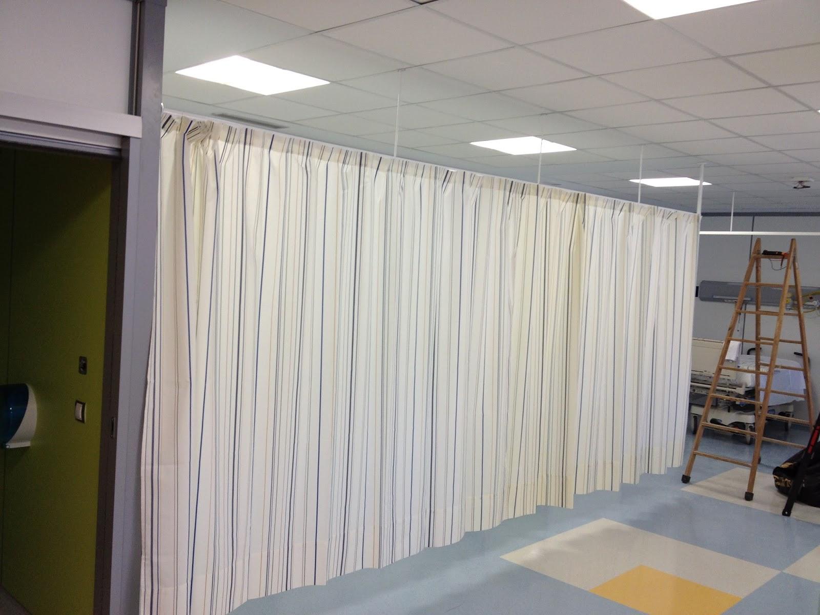 Lekune cortinas separadoras para hospitales o consultas - Lo ultimo en cortinas ...