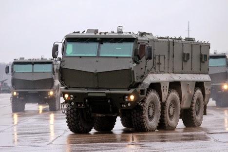 Typhoon-K Kendaraan Tempur Terbaru Militer Rusia