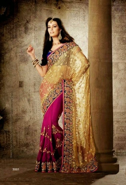Majestic Designer Sarees By Aneesha Indian Fashion