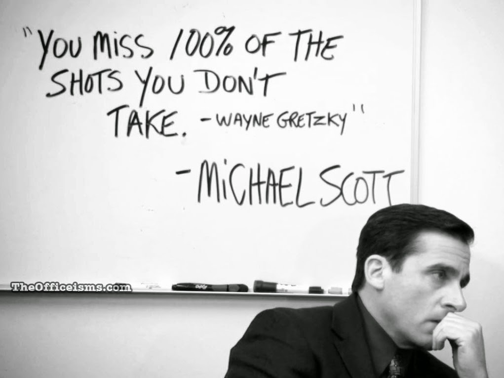 Quote Meme Awesome The Officeisms Michael Scott Memes