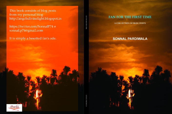 Fan For The First Time book on Faisal Khan by Sonnal Pardiwala Cover Page