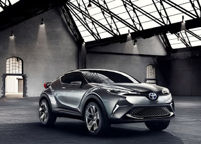 Cars Toyota C-HR Concept Trends