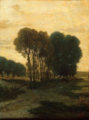 Constant Troyon - Bouquet d'arbres
