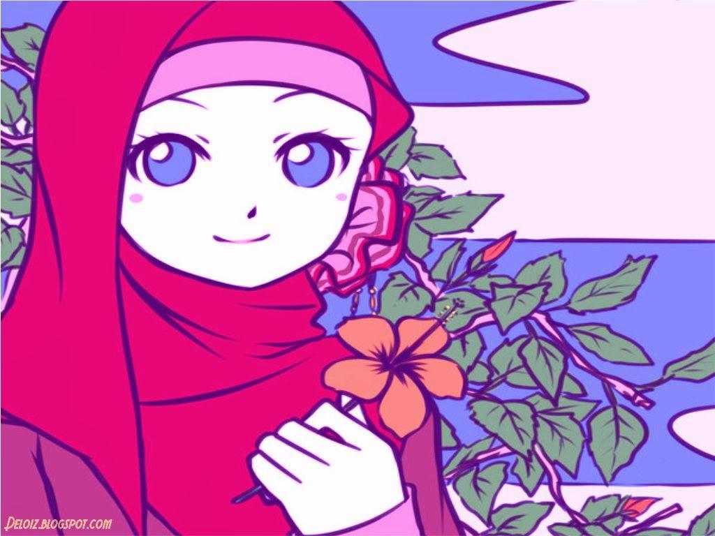 Top Gambar Kartun Muslimah Terbaru Download Anak Muslim