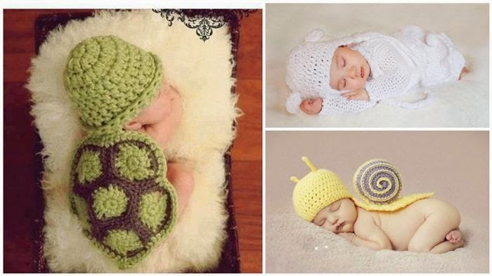 Manualidades Fciles Crochet baby outfits