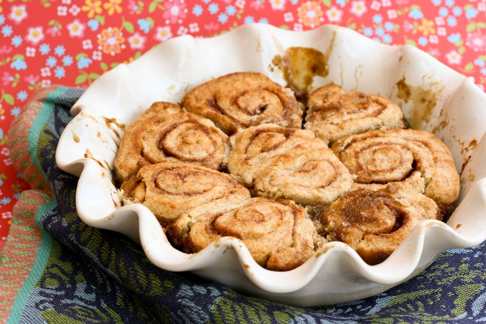 Cinnamon Bun Scones Recipe — Dishmaps