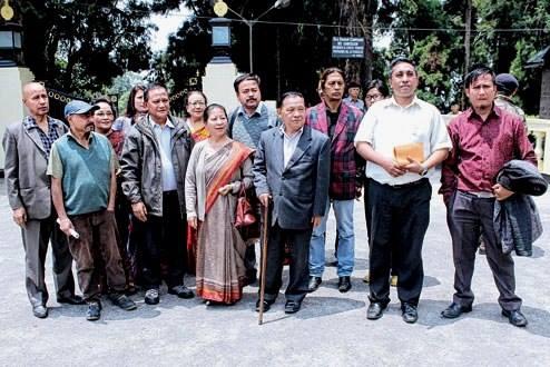 Democratic Front Leaders Meet Governor to Demand Bimal Gurung Arrest