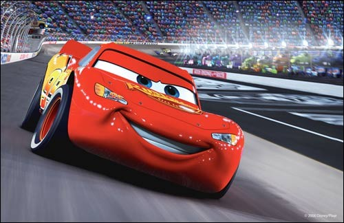 Cars Movie Lightning Mcqueen Gets Intruble