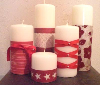 Velas casiopea velas decoradas - Velas decoradas para navidad ...