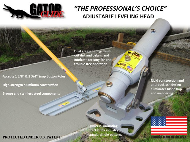 Gator Glide Adjustable Leveling Head