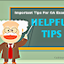 Important Tips For CA Exams