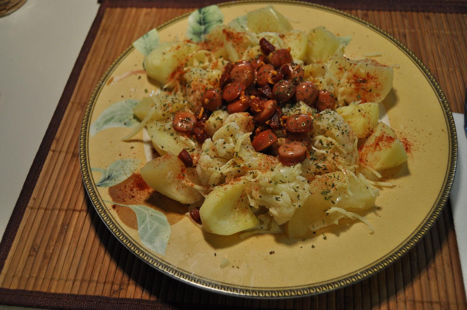 Pepillococinillas coliflor con patatas en olla r pida - Patatas en olla rapida ...
