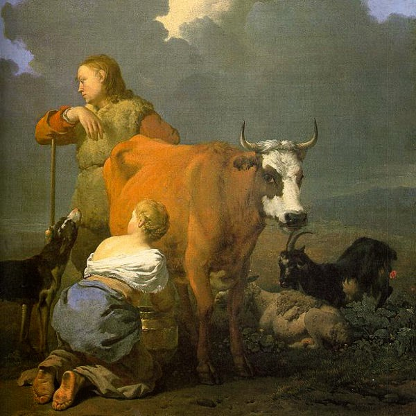sejarah susu sapi