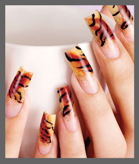 Leopard Nails Designs