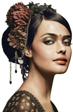 Latest Hairstyles for women 2014-15, Wedding Hairstyles for Girls-Indian