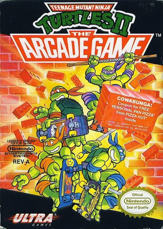 Juegos Terminados Teenage Mutant Ninja Turtles II The Arcade