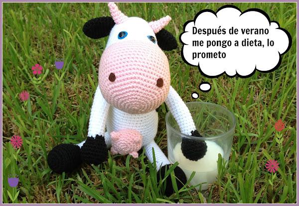 patron vaca Aprender manualidades es facilisimo.com
