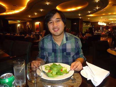 Ed at Petals Restaurant, Rose Rayhaan by Rotana