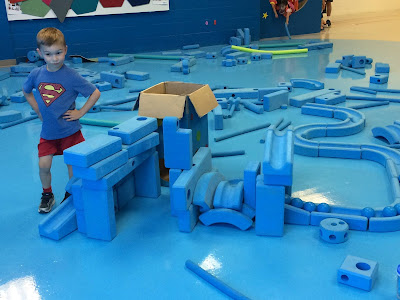 Imagination Station, Discovery Zone, foam blocks, space, space city